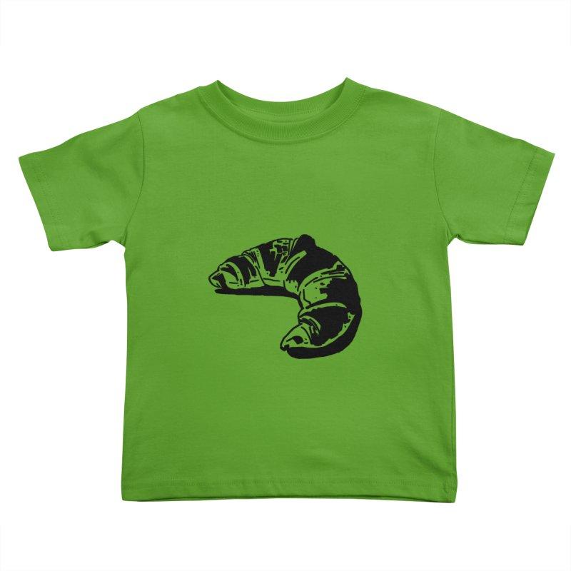 Croissant Kids Toddler T-Shirt by Donal Mangan's Artist Shop