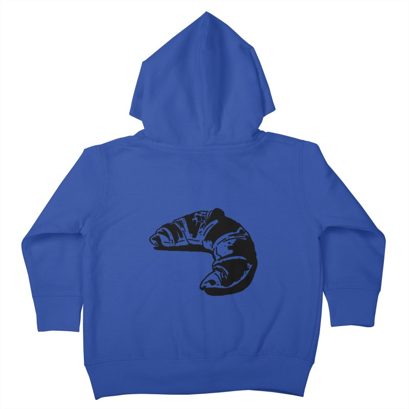 Croissant Kids Toddler Zip-Up Hoody by Donal Mangan's Artist Shop