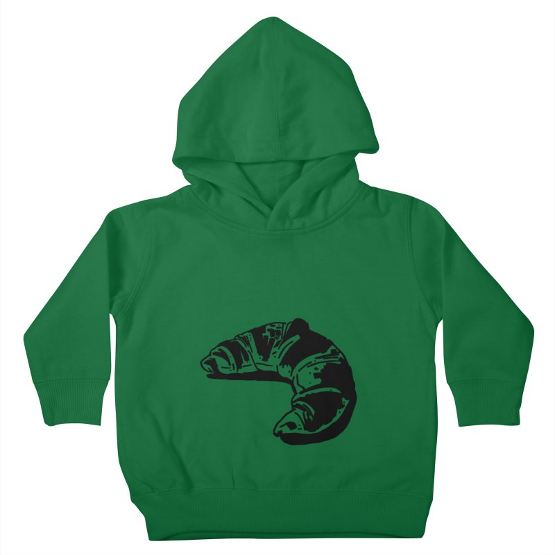 Croissant Kids Toddler Pullover Hoody by Donal Mangan's Artist Shop