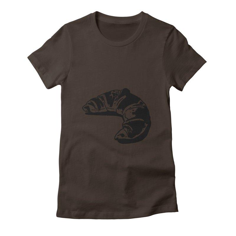 Croissant Women's T-Shirt by Donal Mangan's Artist Shop