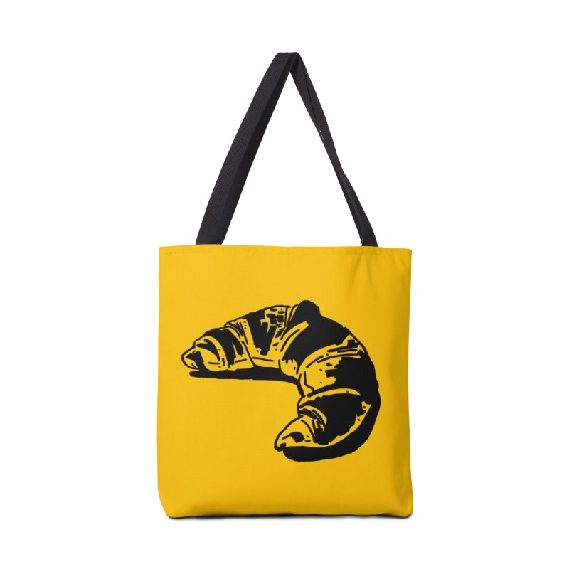 Croissant Accessories Tote Bag Bag by Donal Mangan's Artist Shop