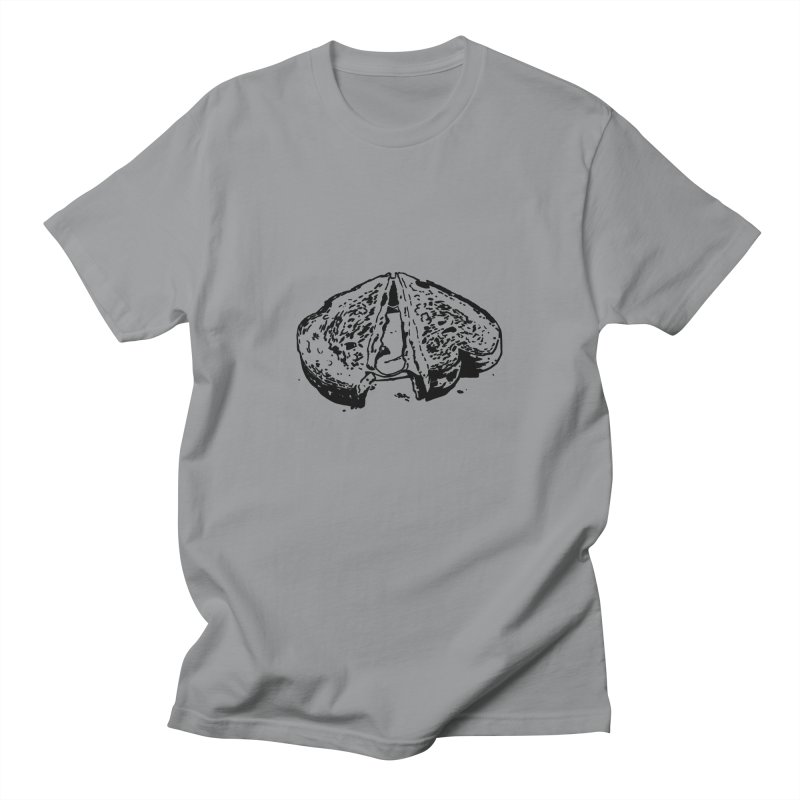 Grilled Cheese Sandwich Women's Unisex T-Shirt by Donal Mangan's Artist Shop