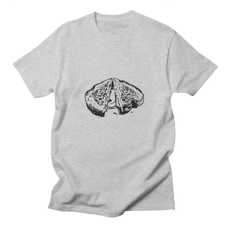 Grilled Cheese Sandwich Men's T-shirt by Donal Mangan's Artist Shop