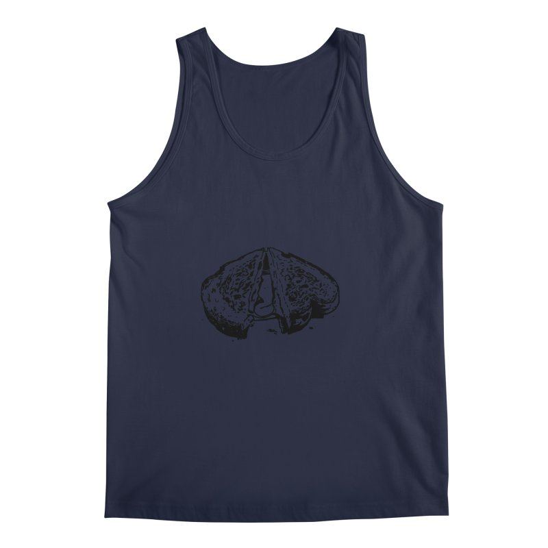 Grilled Cheese Sandwich Men's Regular Tank by Donal Mangan's Artist Shop