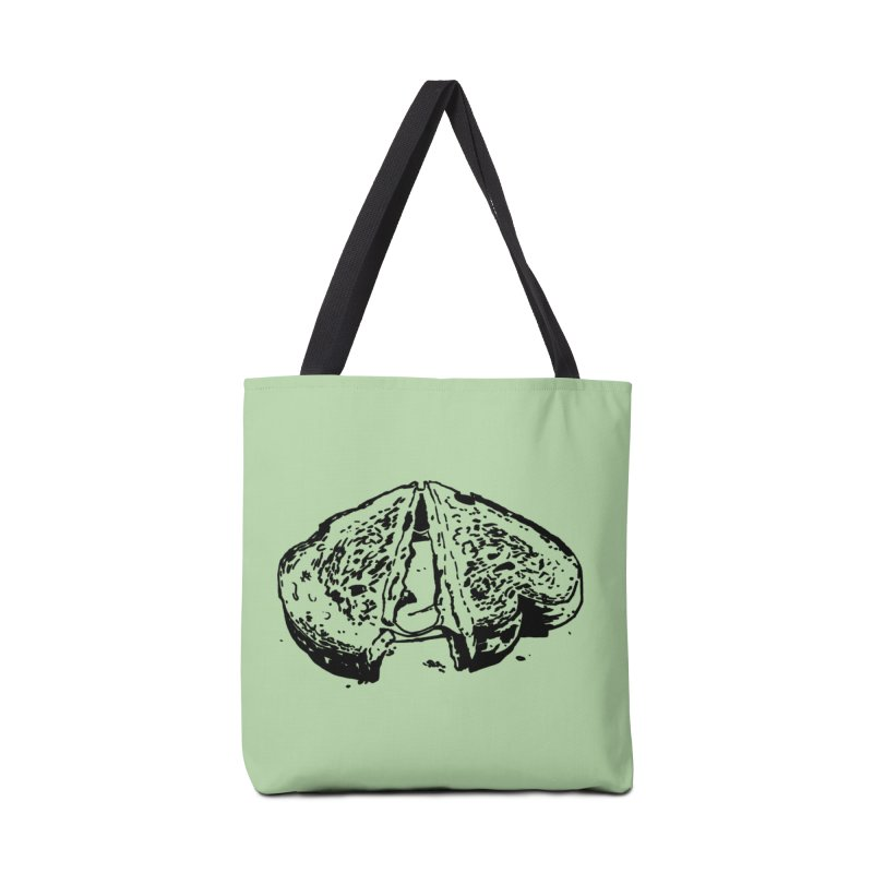 Grilled Cheese Sandwich Accessories Bag by Donal Mangan's Artist Shop