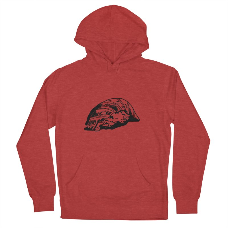 Sushi Women's French Terry Pullover Hoody by Donal Mangan's Artist Shop