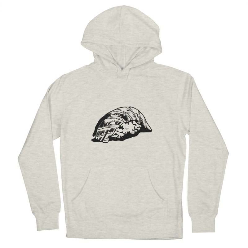 Sushi Men's French Terry Pullover Hoody by Donal Mangan's Artist Shop