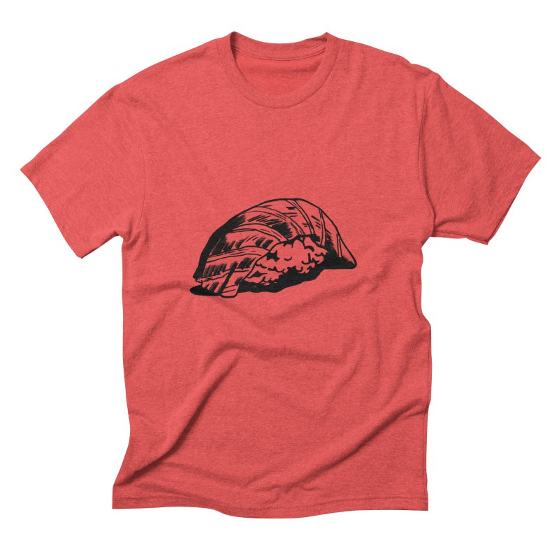 Sushi Men's Triblend T-shirt by Donal Mangan's Artist Shop
