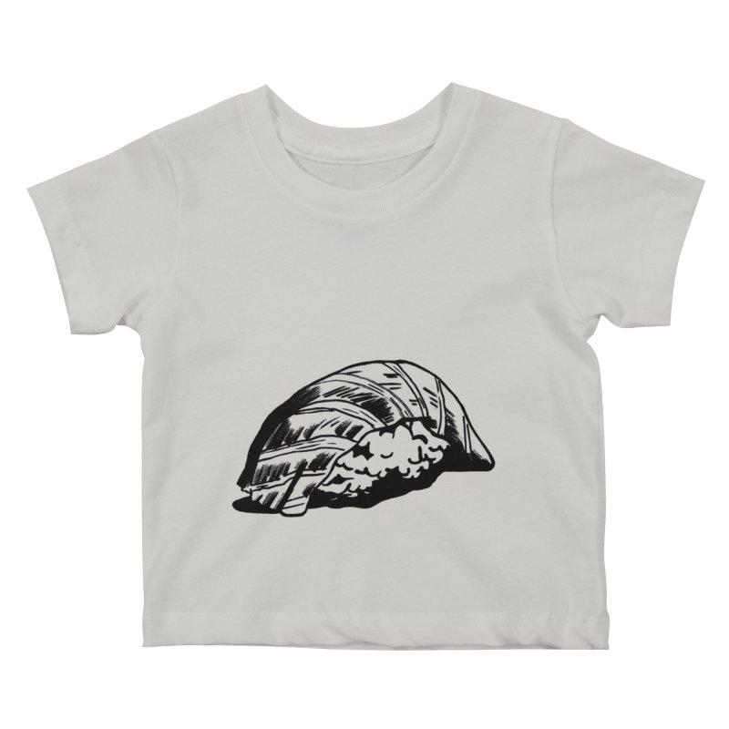 Sushi Kids Baby T-Shirt by Donal Mangan's Artist Shop
