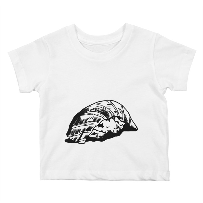 Sushi Kids Baby T-Shirt by Donal Mangan's Artist Shop