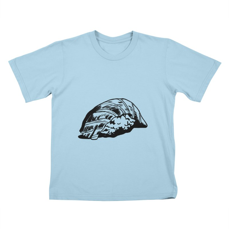 Sushi Kids T-Shirt by Donal Mangan's Artist Shop