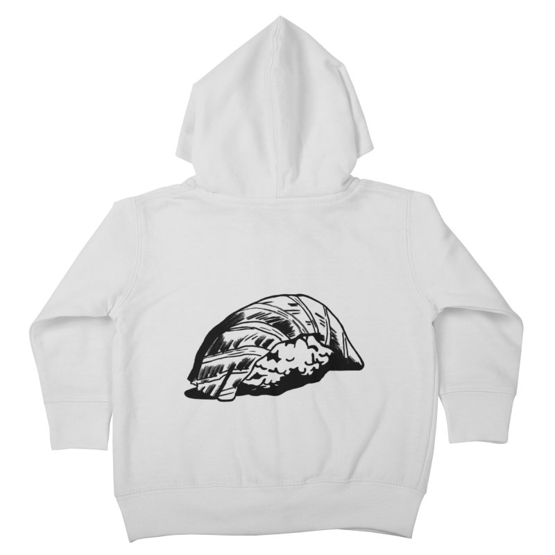Sushi Kids Toddler Zip-Up Hoody by Donal Mangan's Artist Shop