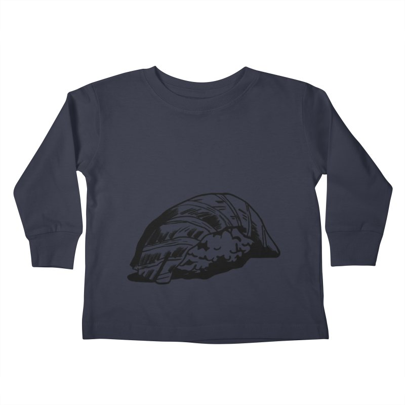 Sushi Kids Toddler Longsleeve T-Shirt by Donal Mangan's Artist Shop