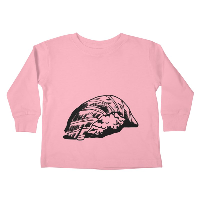 Sushi Kids Toddler Longsleeve T-Shirt by Donal Mangan's Artist Shop