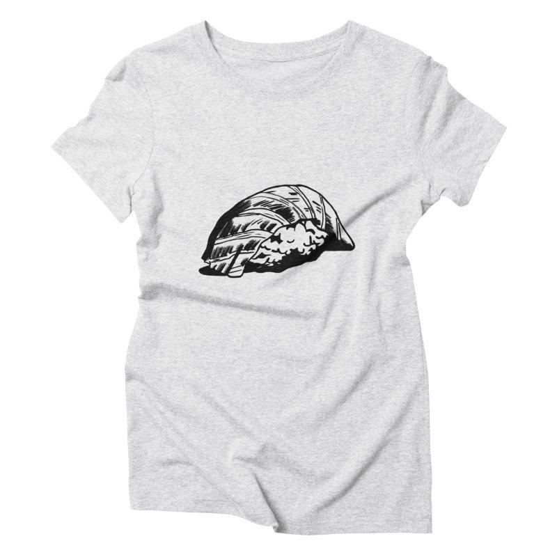 Sushi Women's Triblend T-shirt by Donal Mangan's Artist Shop
