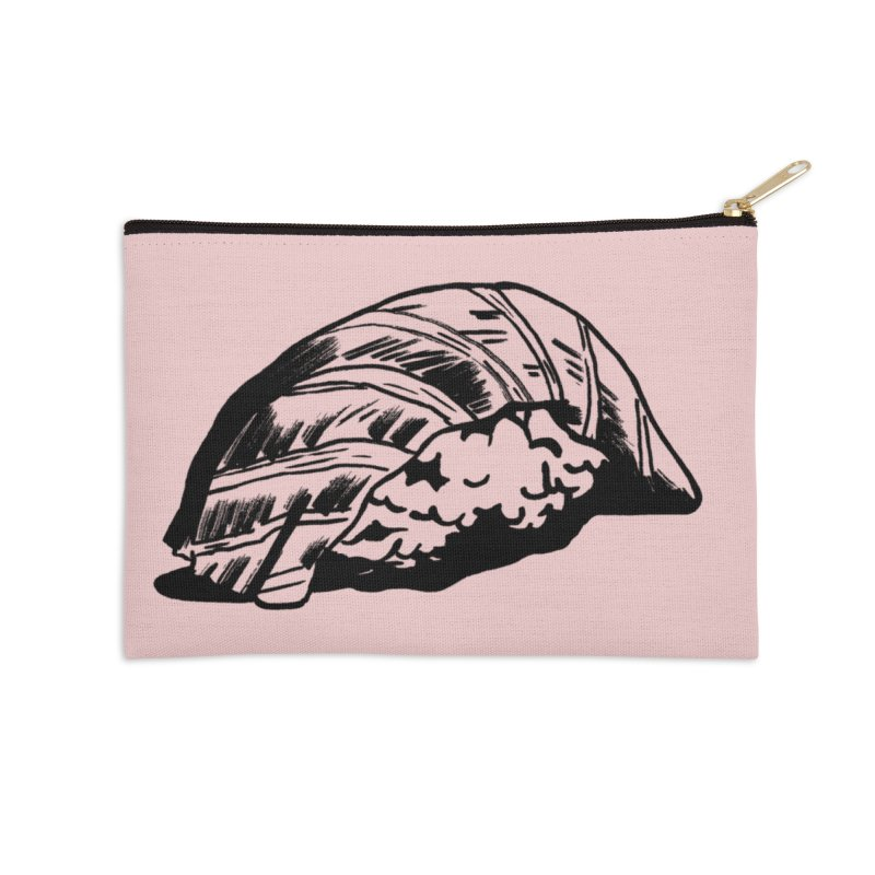Sushi Accessories Zip Pouch by Donal Mangan's Artist Shop