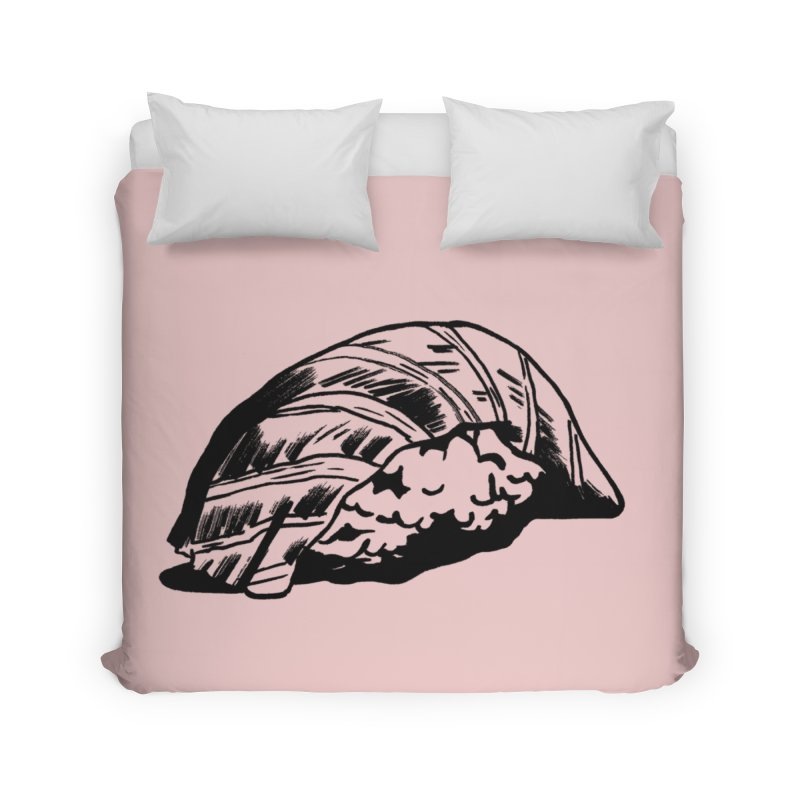Sushi Home Duvet by Donal Mangan's Artist Shop