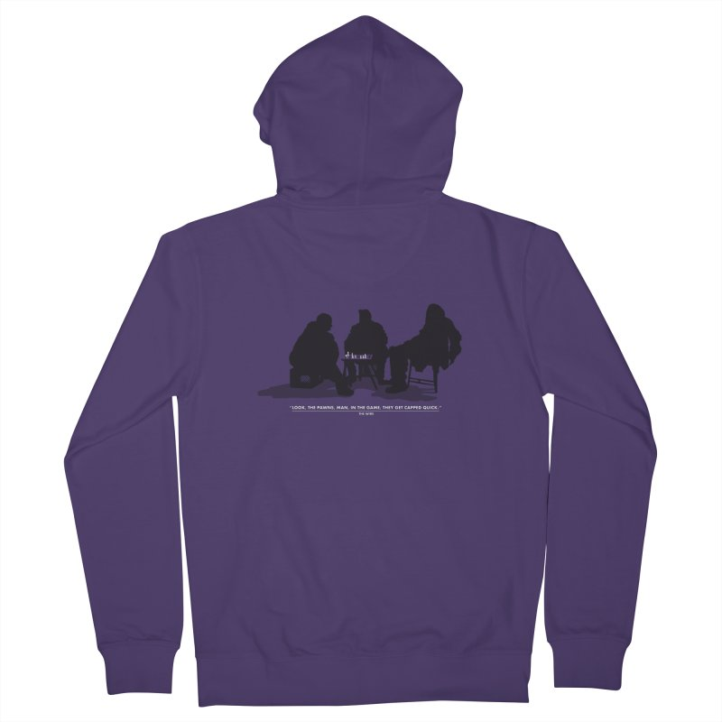Checkers On A Chess Set Women's Zip-Up Hoody by Donal Mangan's Artist Shop