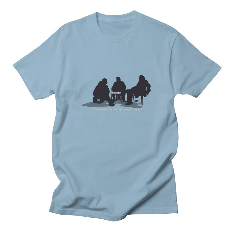 Checkers On A Chess Set Men's T-shirt by Donal Mangan's Artist Shop