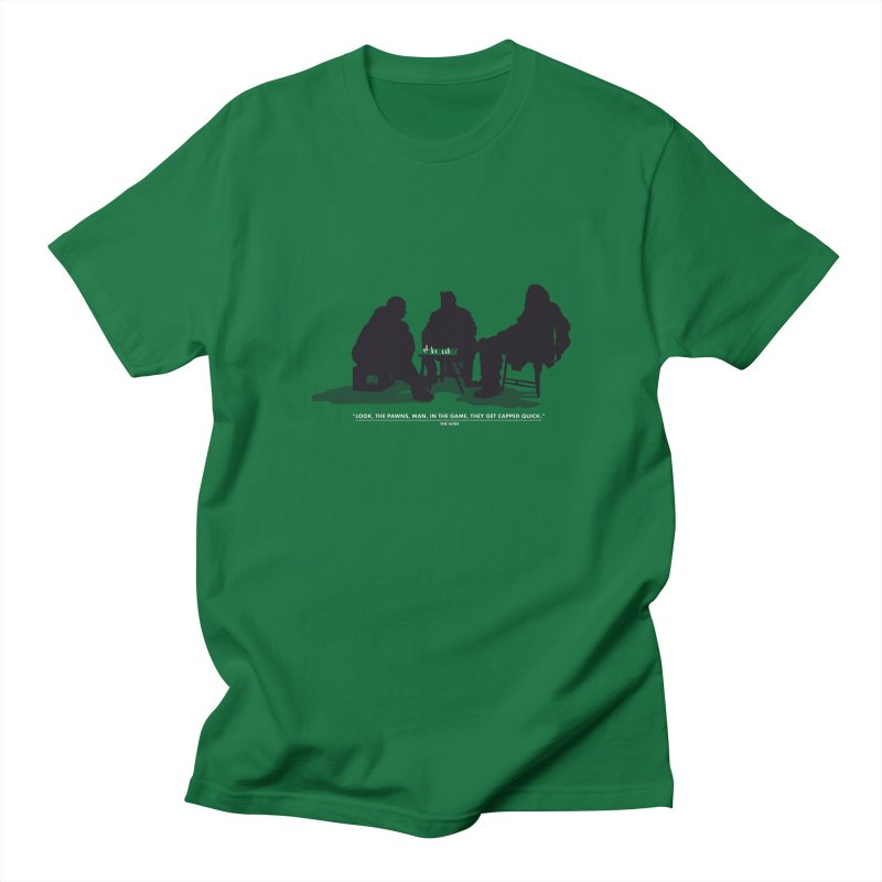 Checkers On A Chess Set Women's Unisex T-Shirt by Donal Mangan's Artist Shop