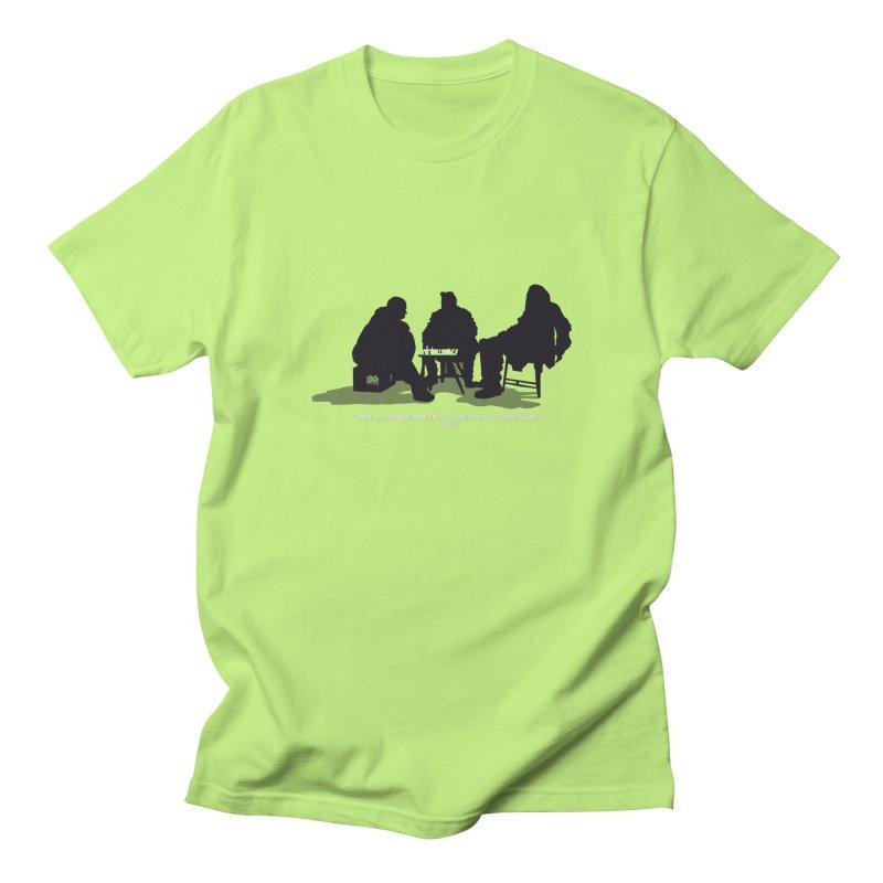 Checkers On A Chess Set Men's T-shirt by Donal Mangan's Artist Shop