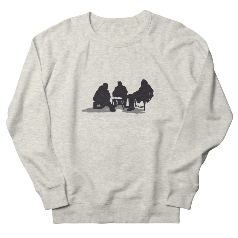 Checkers On A Chess Set Women's Sweatshirt by Donal Mangan's Artist Shop