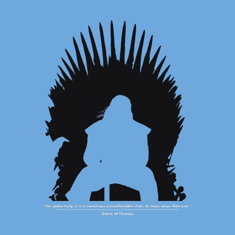 The Iron Throne Women's Longsleeve T-Shirt by Donal Mangan's Artist Shop