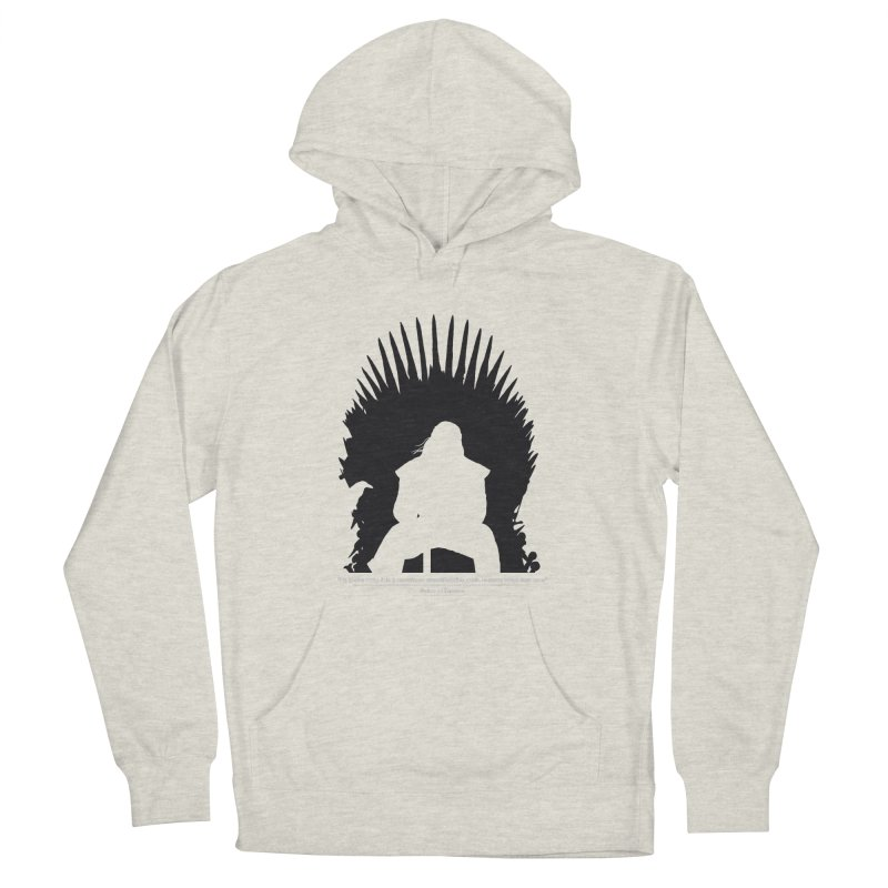 The Iron Throne Men's Pullover Hoody by Donal Mangan's Artist Shop