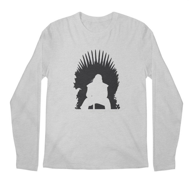 The Iron Throne Men's Regular Longsleeve T-Shirt by Donal Mangan's Artist Shop