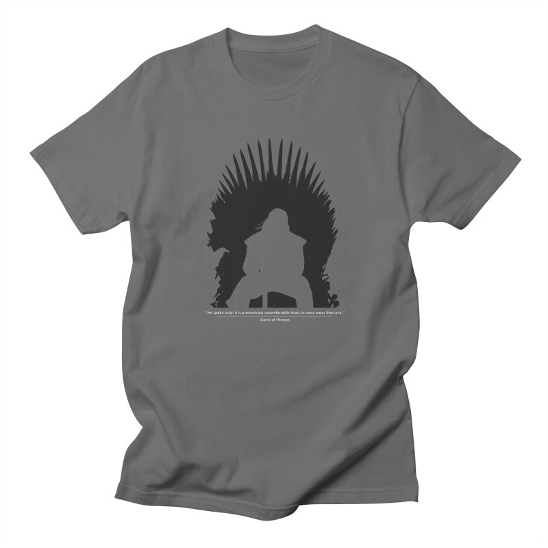 The Iron Throne Men's T-Shirt by Donal Mangan's Artist Shop