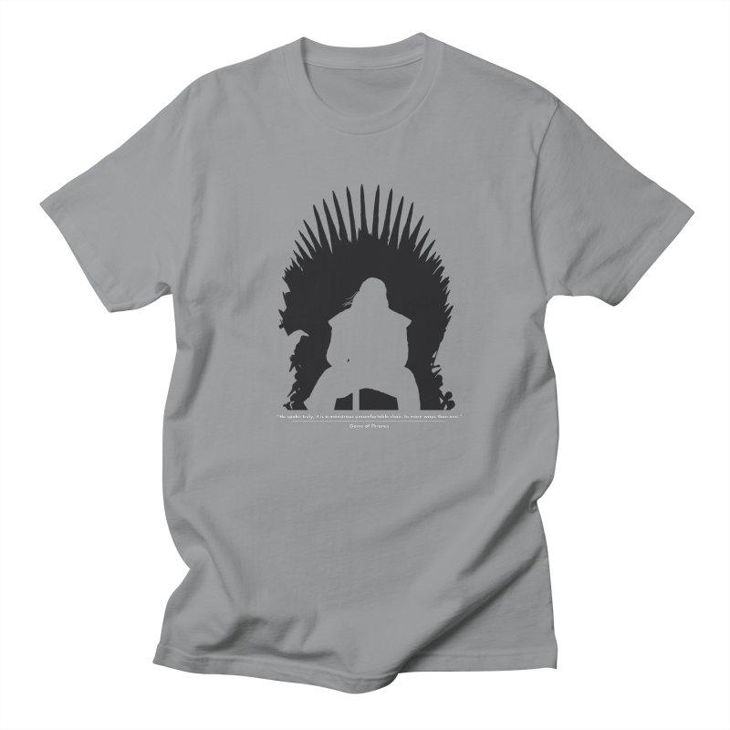 The Iron Throne Men's Regular T-Shirt by Donal Mangan's Artist Shop