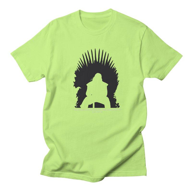 The Iron Throne Women's Unisex T-Shirt by Donal Mangan's Artist Shop