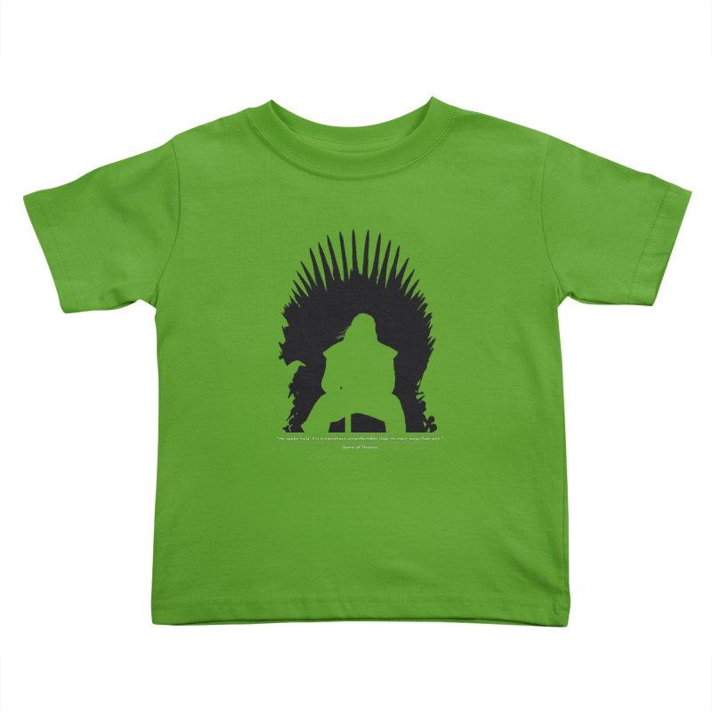 The Iron Throne Kids Toddler T-Shirt by Donal Mangan's Artist Shop