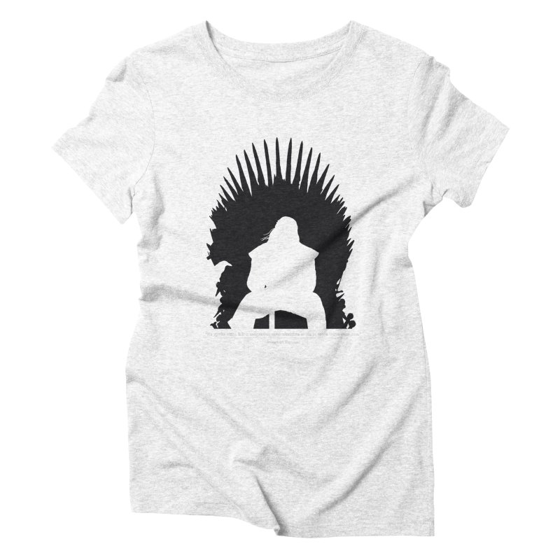 The Iron Throne Women's Triblend T-shirt by Donal Mangan's Artist Shop