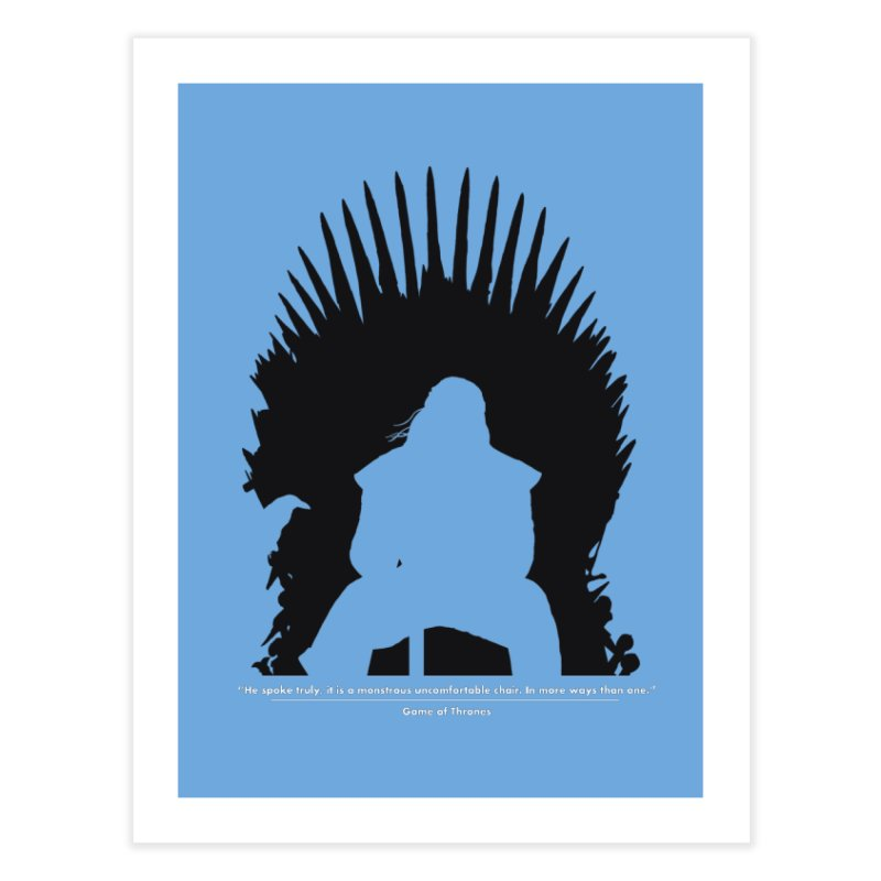 The Iron Throne Home Fine Art Print by Donal Mangan's Artist Shop