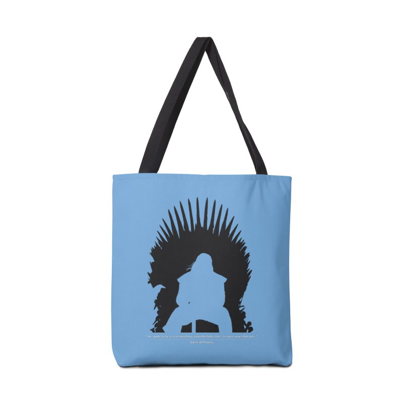 The Iron Throne Accessories Tote Bag Bag by Donal Mangan's Artist Shop