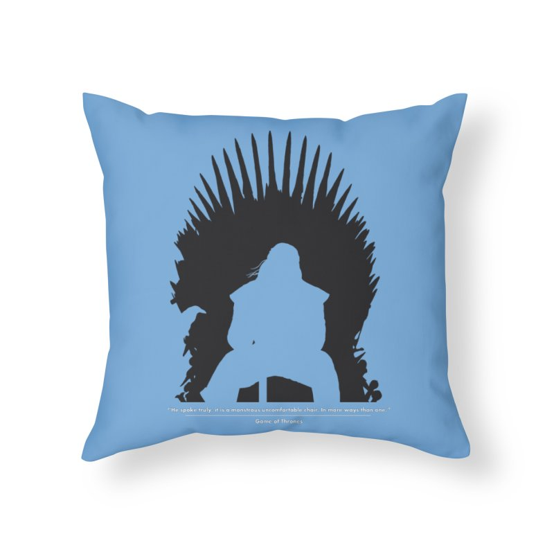 The Iron Throne Home Throw Pillow by Donal Mangan's Artist Shop