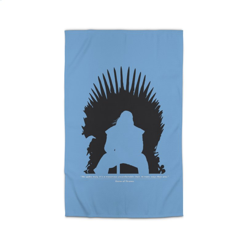 The Iron Throne Home Rug by Donal Mangan's Artist Shop
