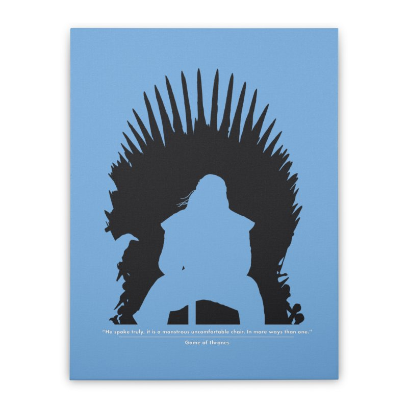 The Iron Throne Home Stretched Canvas by Donal Mangan's Artist Shop
