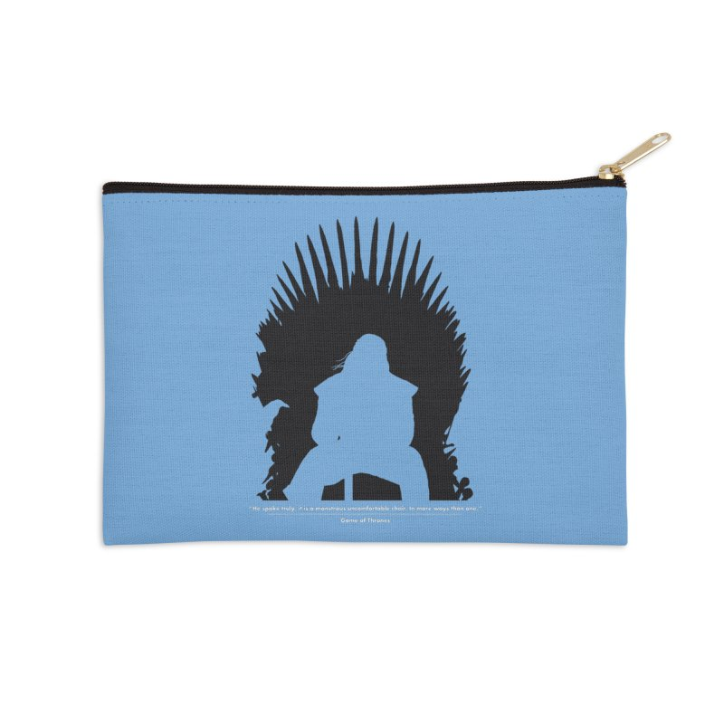 The Iron Throne Accessories Zip Pouch by Donal Mangan's Artist Shop