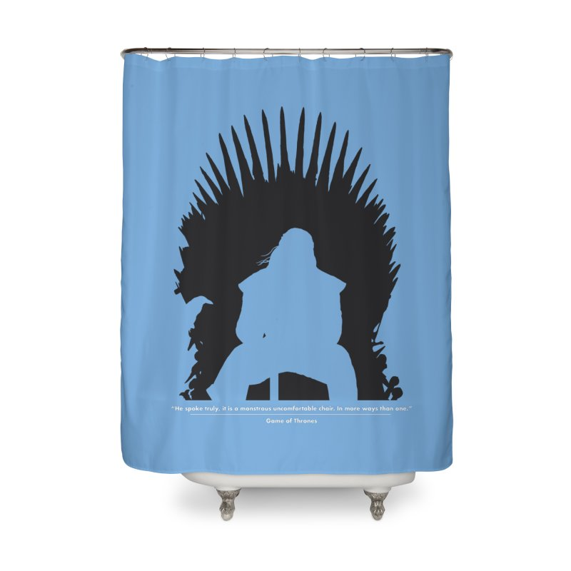 The Iron Throne Home Shower Curtain by Donal Mangan's Artist Shop