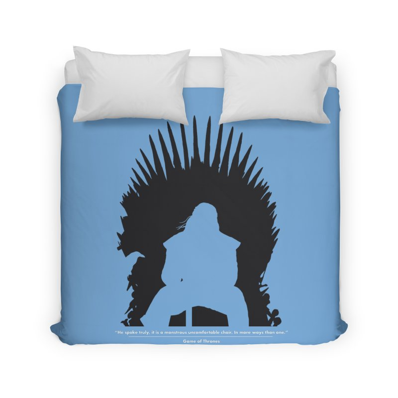 The Iron Throne Home Duvet by Donal Mangan's Artist Shop