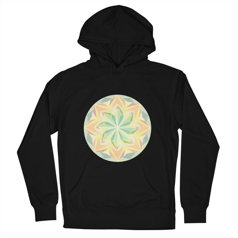 Kaleidoscope Colour Men's Pullover Hoody by Donal Mangan's Artist Shop