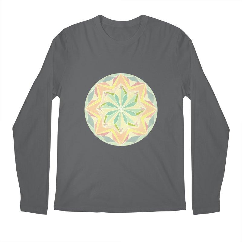 Kaleidoscope Colour Men's Longsleeve T-Shirt by Donal Mangan's Artist Shop