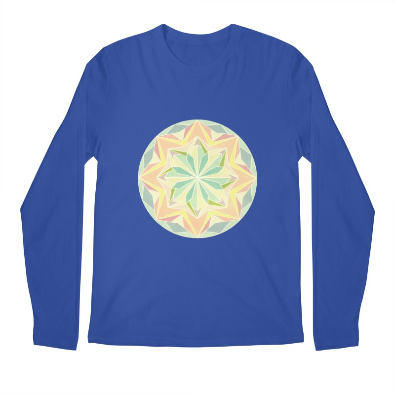 Kaleidoscope Colour Men's Regular Longsleeve T-Shirt by Donal Mangan's Artist Shop