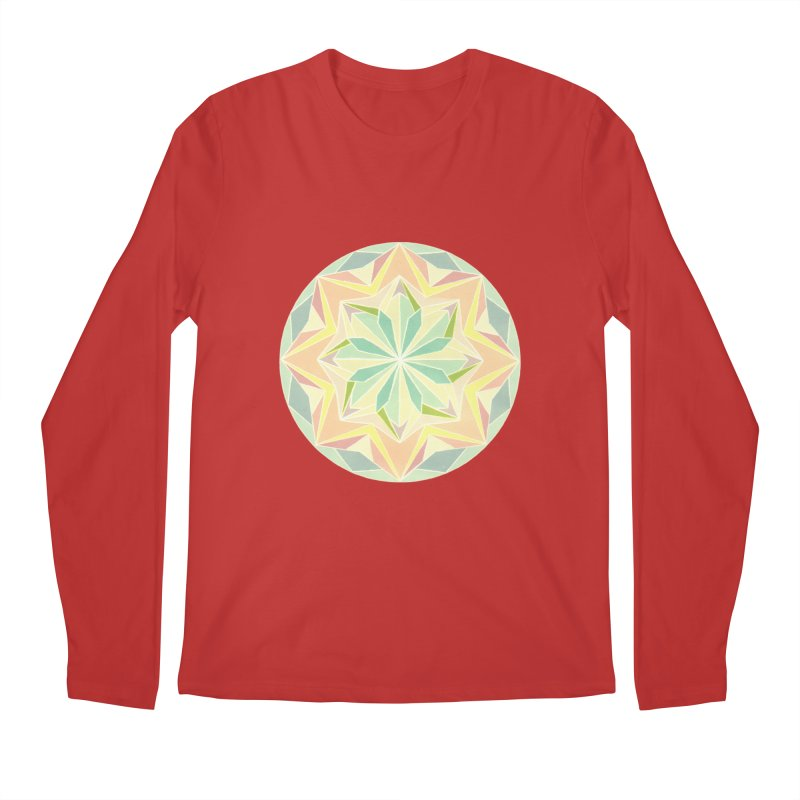 Kaleidoscope Colour Men's Regular Longsleeve T-Shirt by Donal Mangan's Artist Shop