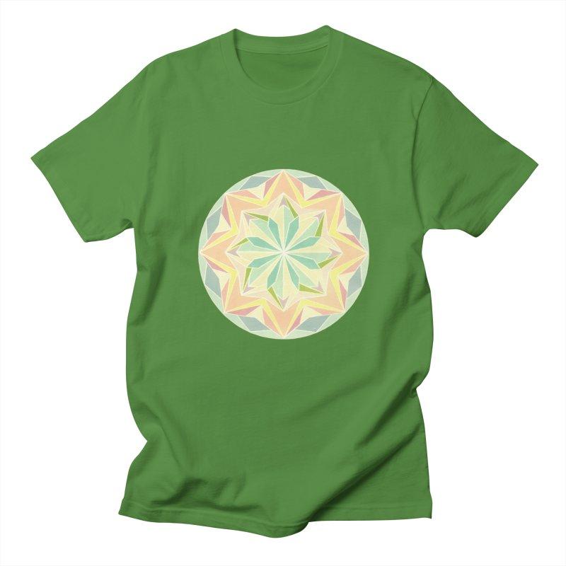 Kaleidoscope Colour Men's T-Shirt by Donal Mangan's Artist Shop
