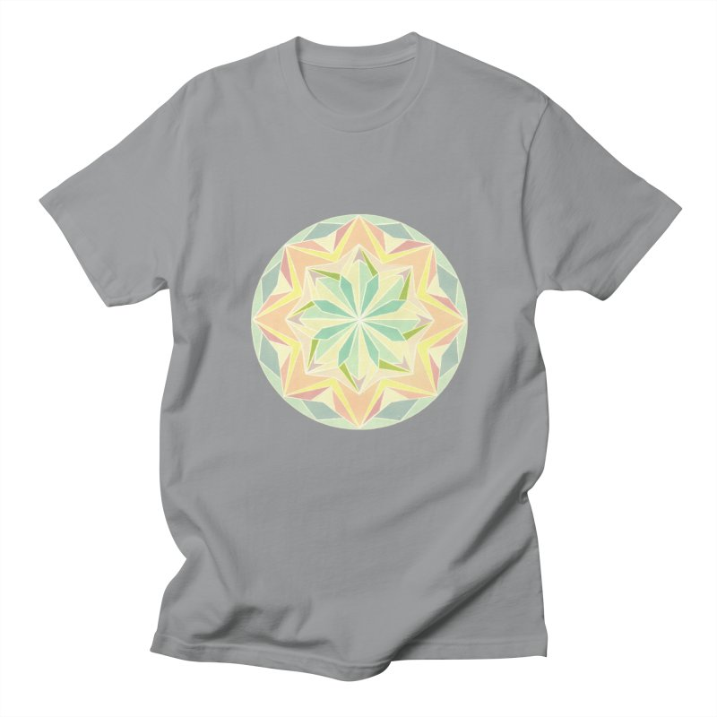 Kaleidoscope Colour Men's T-Shirt by Donal Mangan's Artist Shop