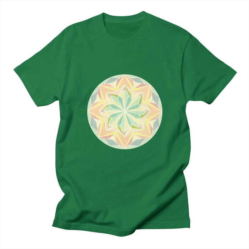Kaleidoscope Colour Women's Unisex T-Shirt by Donal Mangan's Artist Shop