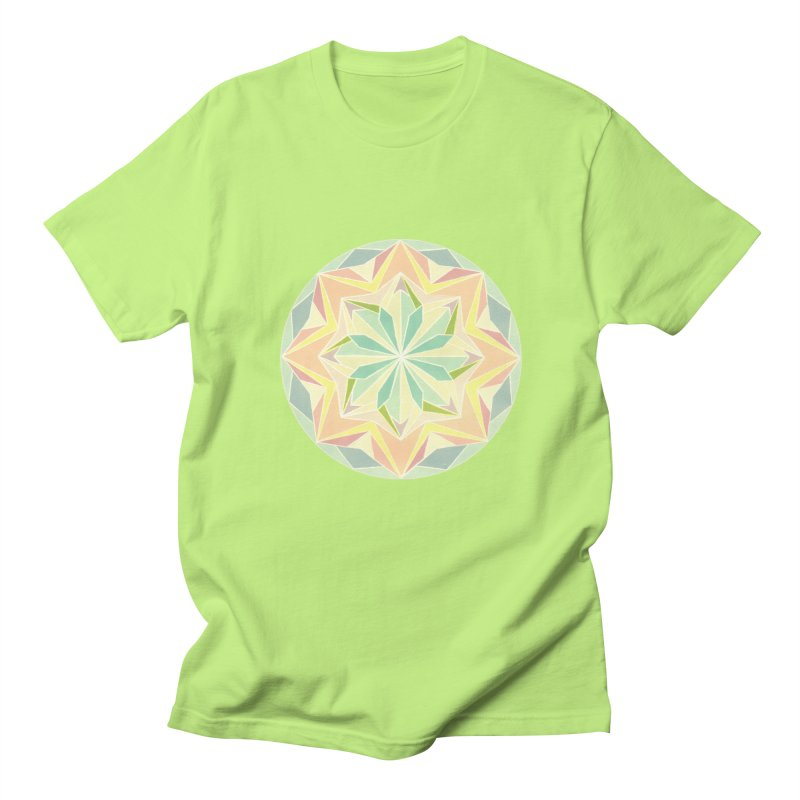 Kaleidoscope Colour Women's Regular Unisex T-Shirt by Donal Mangan's Artist Shop